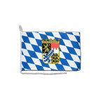 """Bavaria with crest - Boat Flag 12x16"""""""