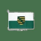 Sachsen - Bootsflagge 30 x 40 cm