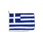 Greece - Boat Flag 12x16""