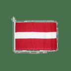 Lettland - Bootsflagge 30 x 40 cm
