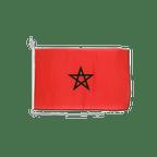 Drapeau pour bateau Maroc - 30 x 40 cm