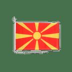 Drapeau pour bateau Macédoine - 30 x 40 cm