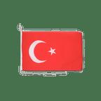 """Turkey - Boat Flag 12x16"""""""