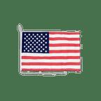 Drapeau pour bateau américain - 30 x 40 cm