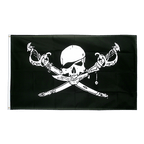 Grand drapeau Pirate avec sabre - 150 x 250 cm