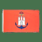 Drapeau Hambourg port - 90 x 150 cm