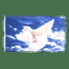 Drapeau Colombe de la paix - 90 x 150 cm
