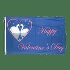 Drapeau Happy Valentines Day - 90 x 150 cm