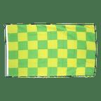 Checkered Green-Yellow - 3x5 ft Flag