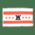 Drenthe - Flagge 90 x 150 cm