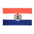 Drapeau Pays-Bas avec Blason - 90 x 150 cm
