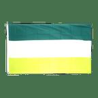 Schrebergarten - Flagge 90 x 150 cm