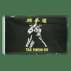 Drapeau Taekwondo Tae Kwon Do - 90 x 150 cm