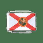 Drapeau avec cordelettes USA US Florida - 20 x 30 cm