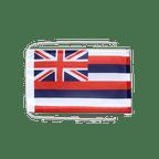 Drapeau avec cordelettes USA US Hawaii - 20 x 30 cm
