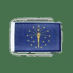 Drapeau avec cordelettes USA US Indiana - 20 x 30 cm