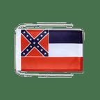 Drapeau avec cordelettes USA US Mississippi - 20 x 30 cm