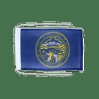 Drapeau avec cordelettes USA US Nebraska - 20 x 30 cm