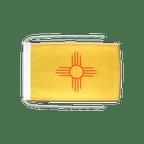 Drapeau avec cordelettes USA US New Mexico - 20 x 30 cm