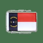 Drapeau avec cordelettes USA US North Carolina - 20 x 30 cm
