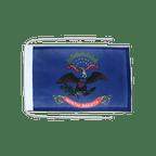 Drapeau avec cordelettes USA US North Dakota - 20 x 30 cm