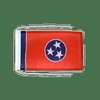 Drapeau avec cordelettes USA US Tennessee - 20 x 30 cm
