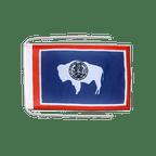 Drapeau avec cordelettes USA US Wyoming - 20 x 30 cm