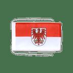 Drapeau avec cordelettes Allemagne Brandebourg 20 x 30 cm