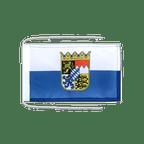 Drapeau avec cordelettes Allemagne Bavière Dienstflagge 20 x 30 cm