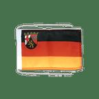 Drapeau avec cordelettes Allemagne Rhénanie-Palatinat 20 x 30 cm