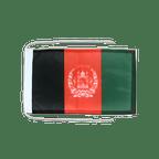 Drapeau avec cordelettes Afghanistan - 20 x 30 cm