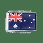Drapeau avec cordelettes Australie - 20 x 30 cm