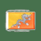 Drapeau avec cordelettes Bhoutan - 20 x 30 cm