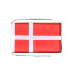 Denmark - Flag with ropes 8x12""