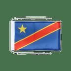 Drapeau avec cordelettes République démocratique du Congo - 20 x 30 cm