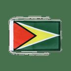 Drapeau avec cordelettes Guyana - 20 x 30 cm