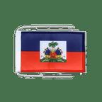 Drapeau avec cordelettes Haiti - 20 x 30 cm