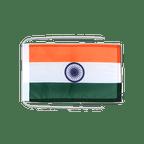 Drapeau avec cordelettes Inde - 20 x 30 cm