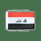 Drapeau avec cordelettes Irak 2009 - 20 x 30 cm