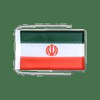 Drapeau avec cordelettes Iran - 20 x 30 cm