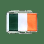 Drapeau avec cordelettes Irlande - 20 x 30 cm