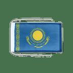 Drapeau avec cordelettes Kazakhstan - 20 x 30 cm