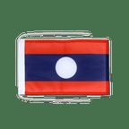 Drapeau avec cordelettes Laos - 20 x 30 cm
