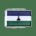 Drapeau avec cordelettes Lesotho Nouveau - 20 x 30 cm