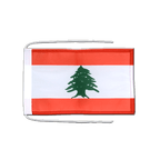 Lebanon - Flag with ropes 8x12""