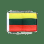 Drapeau avec cordelettes Lituanie - 20 x 30 cm