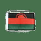Drapeau avec cordelettes Malawi - 20 x 30 cm