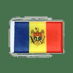 Drapeau avec cordelettes République de Moldavie - 20 x 30 cm