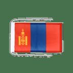 Drapeau avec cordelettes Mongolie - 20 x 30 cm