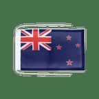 Drapeau avec cordelettes Nouvelle Zélande - 20 x 30 cm